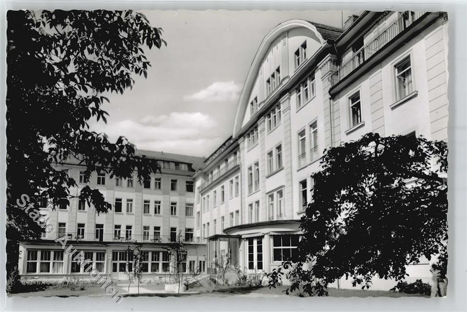 51066475 bad kissingen saale sanatorium der bundesversicherungsanstalt fuer an. Black Bedroom Furniture Sets. Home Design Ideas