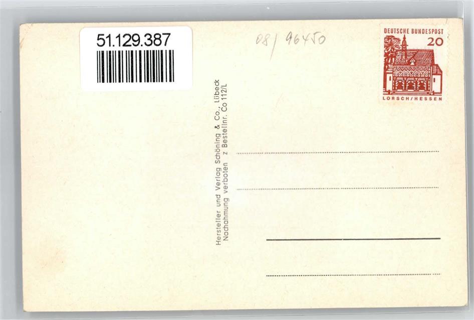 51129387-Coburg-Leporello-Veste-Schlossplatz-Blick-auf-Arkaden-Schloss-Ehr