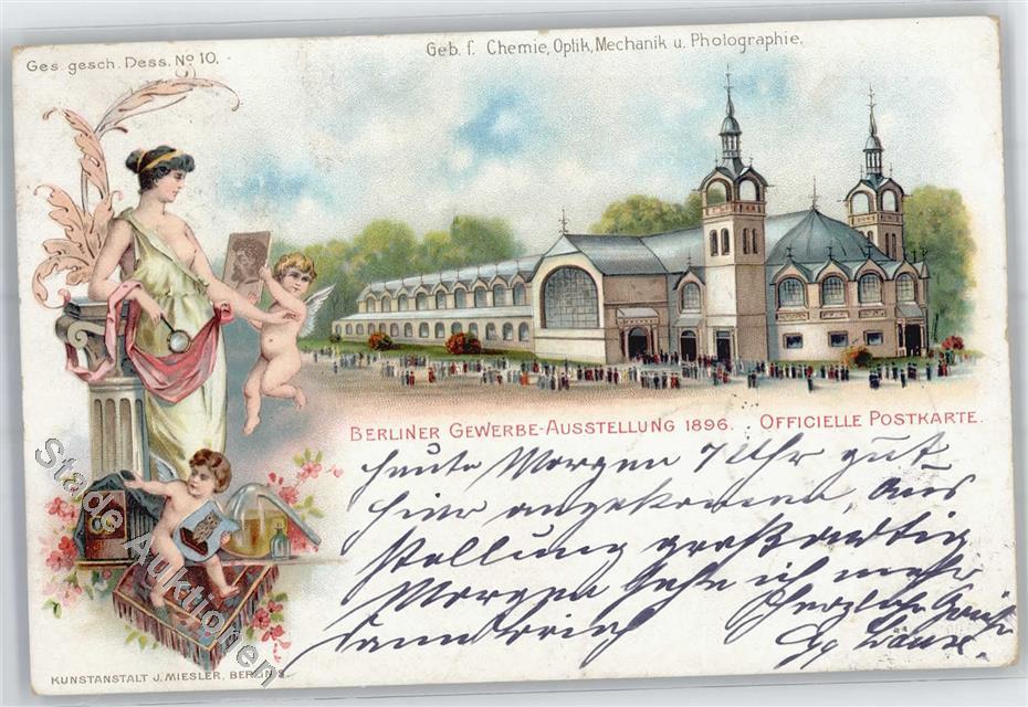 51487253 Berlin Mitte Gewerbe Ausstellung 1896 Ebay