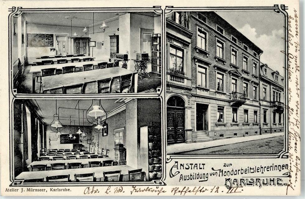 51880569 karlsruhe baden 1909 anstalt zur ausbildung for Ausbildung grafikdesigner karlsruhe