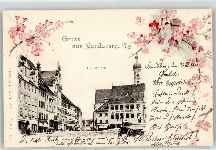 52160355 landsberg b halle saale hauptplatz gasthaus for Fenster 06188 landsberg