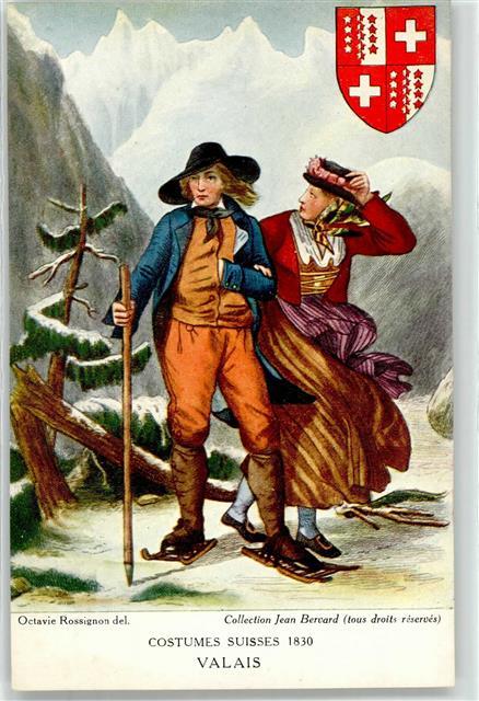 52549623-Tracht-Valais-1830-Frau